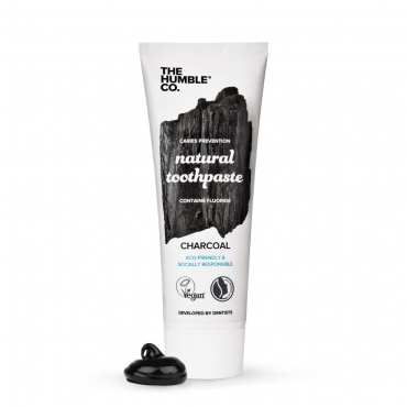 Dentifrice Naturel au Charbon - The Humble Co
