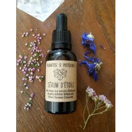 Sérum d'Etoile - Soin Visage à l'Edelweiss - Plantes & Potions