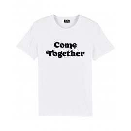 Tee-Shirt Coton Bio GOTS - COME TOGETHER - GMK