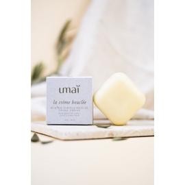 Crème Coiffante Solide pour Cheveux Bouclés - Umaï