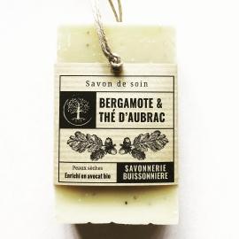 Savon Bio Bergamote & Thé d'Aubrac (100g)