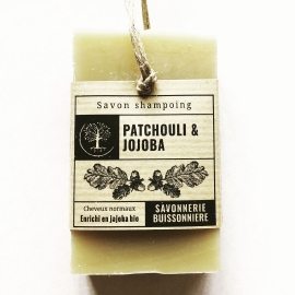 Shampoing  Solide bio Jojoba & Patchouli (100g)